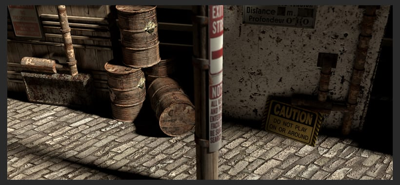 3D Environtment - Street 0