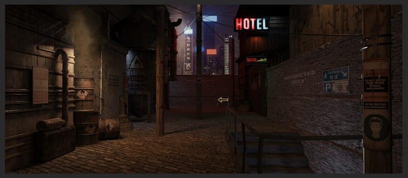 3D Environtment - Street 1