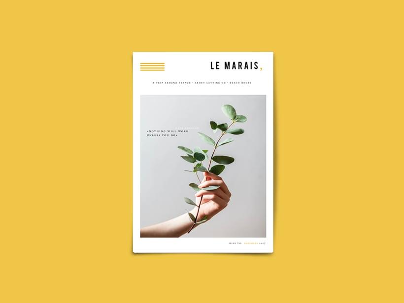 magazine cover · Le Marais, 0