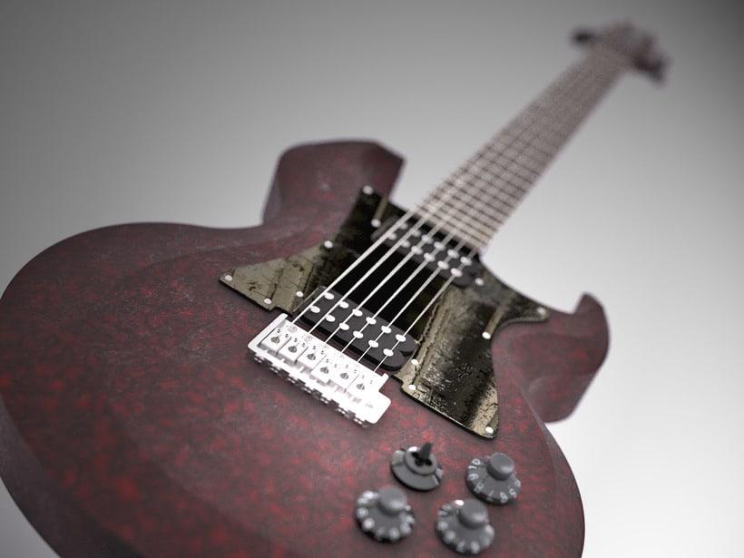 """Diseño original de guitarra """"El Toro"""" 0"""