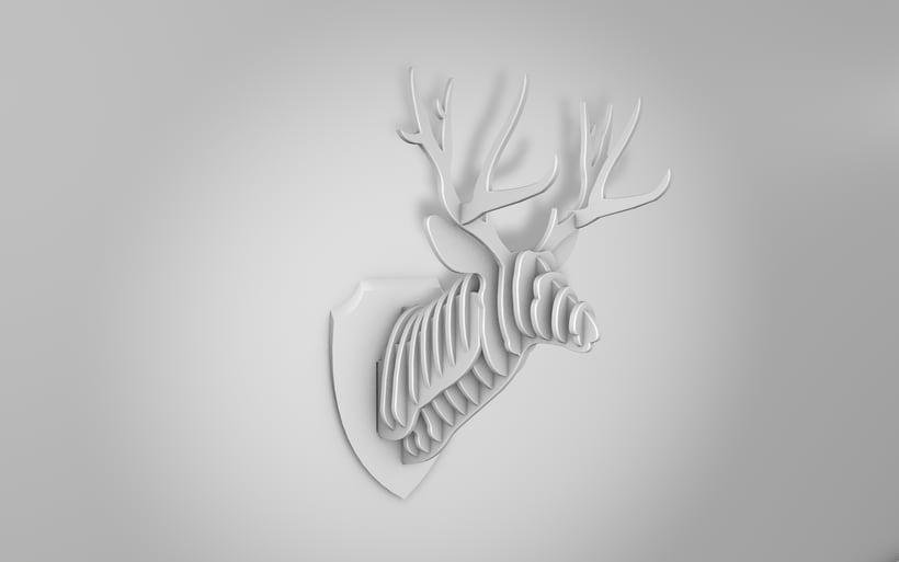 Deer Head 0