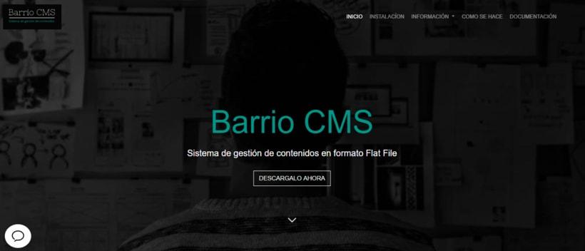 Barrio CMS -1