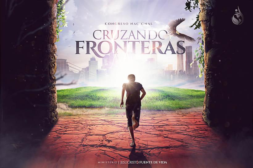 Cruzando Fronteras - Poster  -1