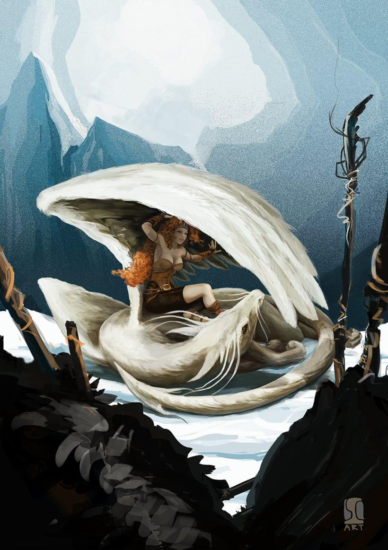 Ilustración Valquirias 1 2