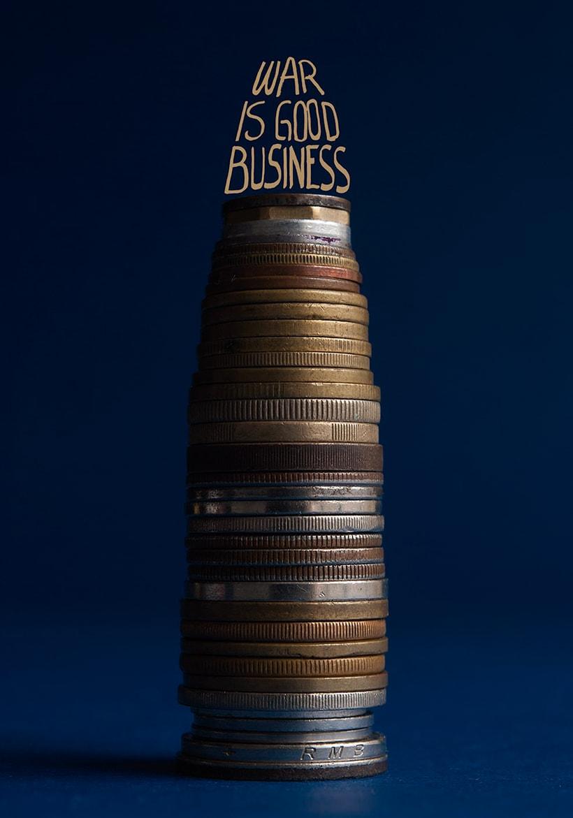 War is Good Business -1
