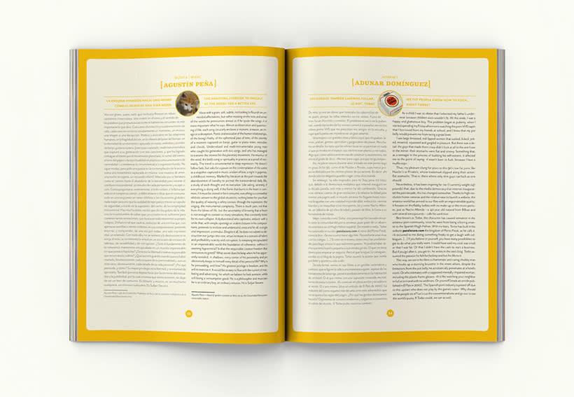 Revista Picnic # 51, Excéntricos. Diseño de páginas sección 2800 caracateres 0