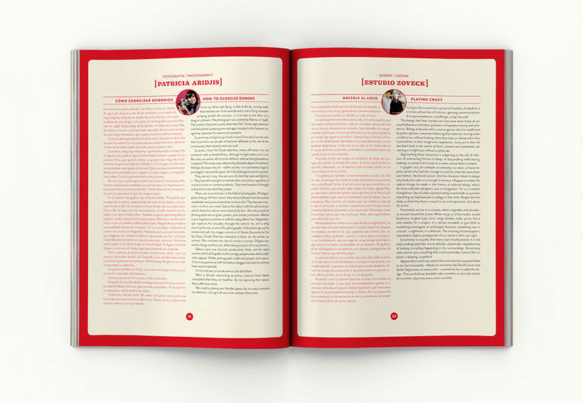 Revista Picnic # 51, Excéntricos. Diseño de páginas sección 2800 caracateres 2