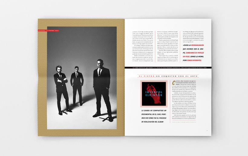 Art District Número 3. Dirección editorial y edición gráfica. Publicación impresa gratuita  2