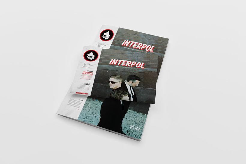 Art District Número 3. Dirección editorial y edición gráfica. Publicación impresa gratuita  0