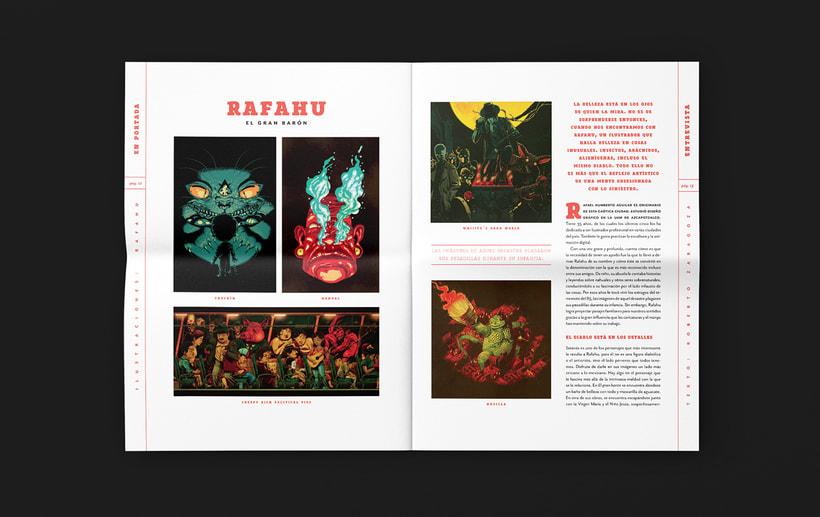 Art District # 1. Dirección editorial y edición gráfica. Publicación impresa gratuita 0