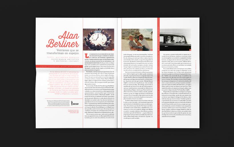Art District # 1. Dirección editorial y edición gráfica. Publicación impresa gratuita 2