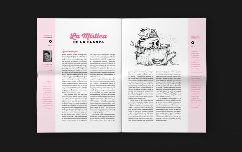 Art District # 1. Dirección editorial y edición gráfica. Publicación impresa gratuita 4