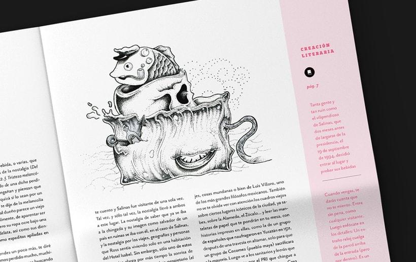 Art District # 1. Dirección editorial y edición gráfica. Publicación impresa gratuita 6