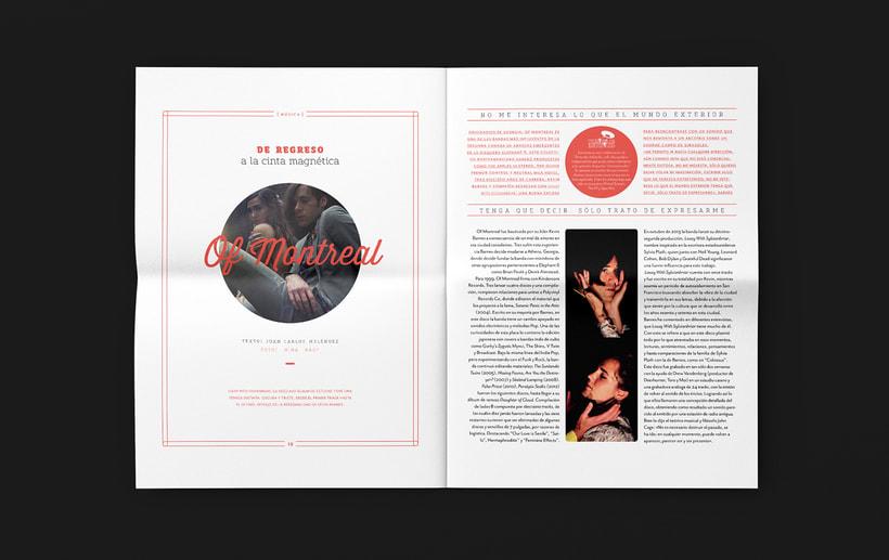 Art District # 1. Dirección editorial y edición gráfica. Publicación impresa gratuita 7