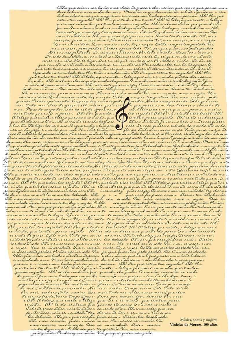 Música, poesía y mujeres. Vinícius de Moraes, 100 años. 0