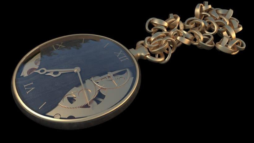 3D pocket clock 0