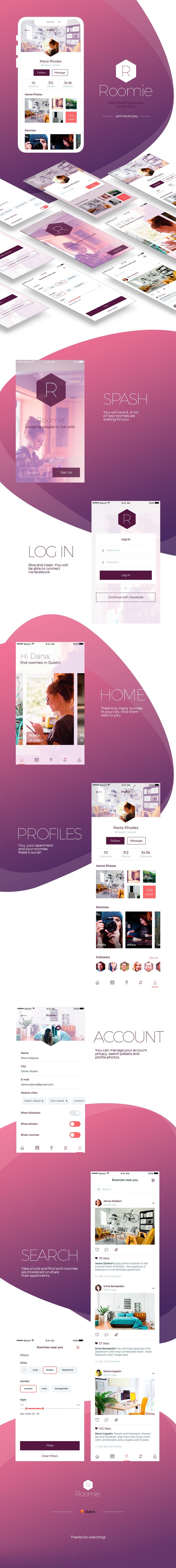 Roomie App -1