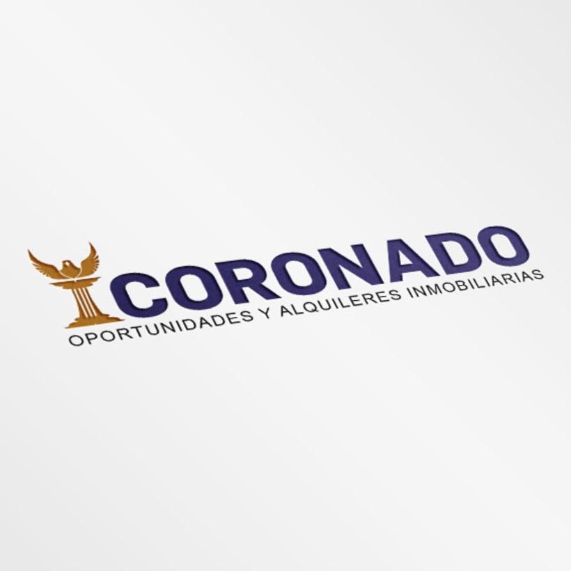 """Mi Proyecto del curso: Creación de marca para Inmobiliaria """"CORONADO"""" -1"""