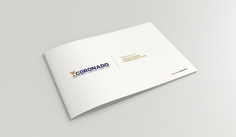 """Mi Proyecto del curso: Creación de marca para Inmobiliaria """"CORONADO"""" 0"""