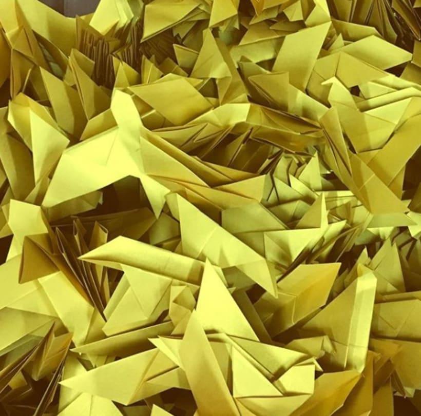El Portal de Alicante - Trabajo de origami  11