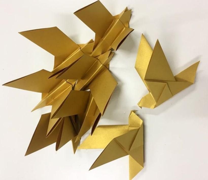 El Portal de Alicante - Trabajo de origami  12