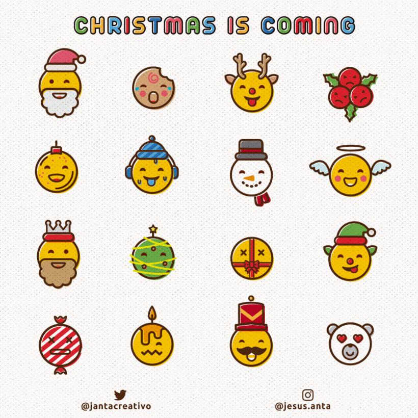 Emojis navideños 0