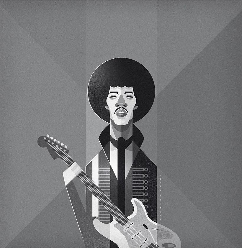 Jimi Hendrix -1