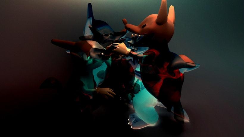 Three Little Wolves  -1