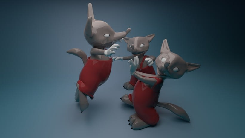 Three Little Wolves  5