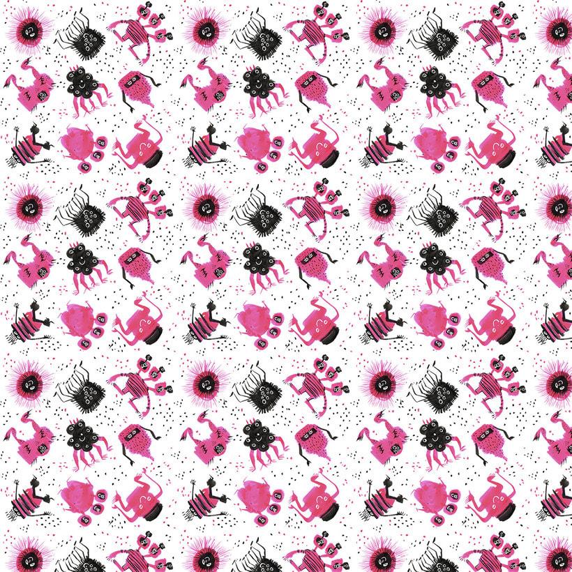 monstruosamente pattern -1