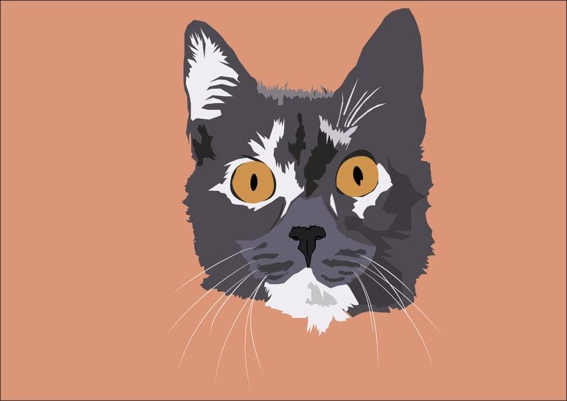 Ilustración gato -1