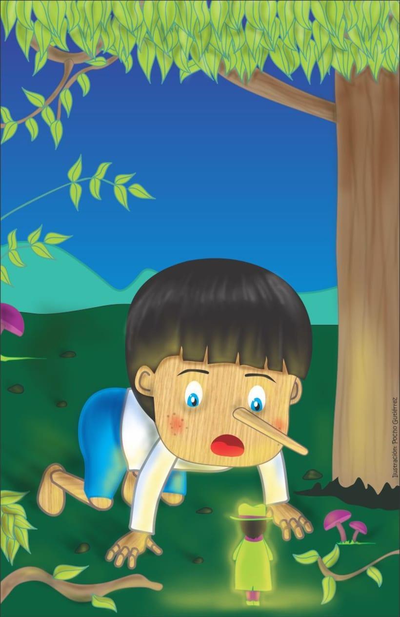 Ilustración Infantil: PINOCHO 2
