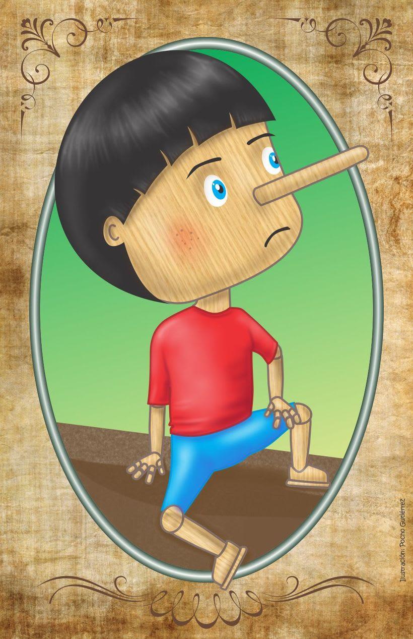 Ilustración Infantil: PINOCHO 0