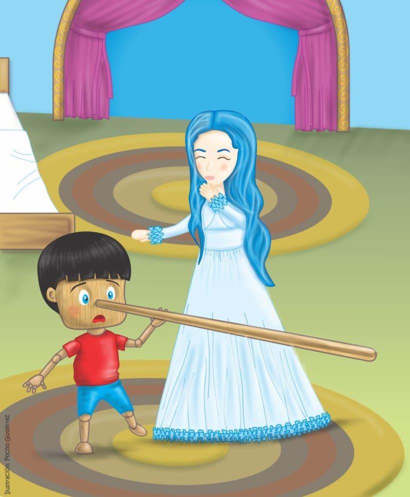 Ilustración Infantil: PINOCHO 5