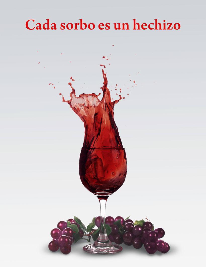 una copa de vino 0