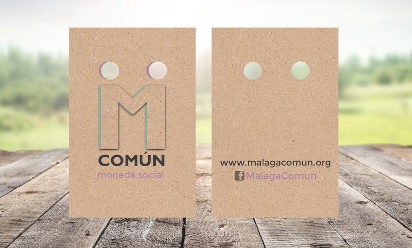 "Identidad Corporativa ""Malaga Común"" 2"