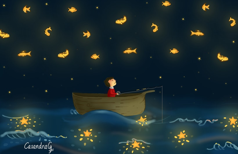 El pescador de estrellas.  -1
