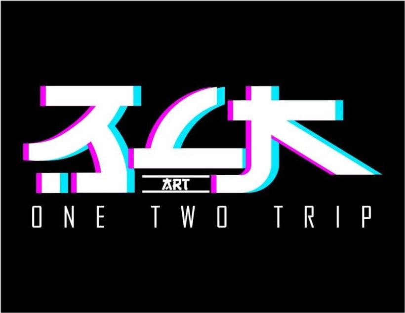 Logotipo BLK art (Estilo Oriental) -1