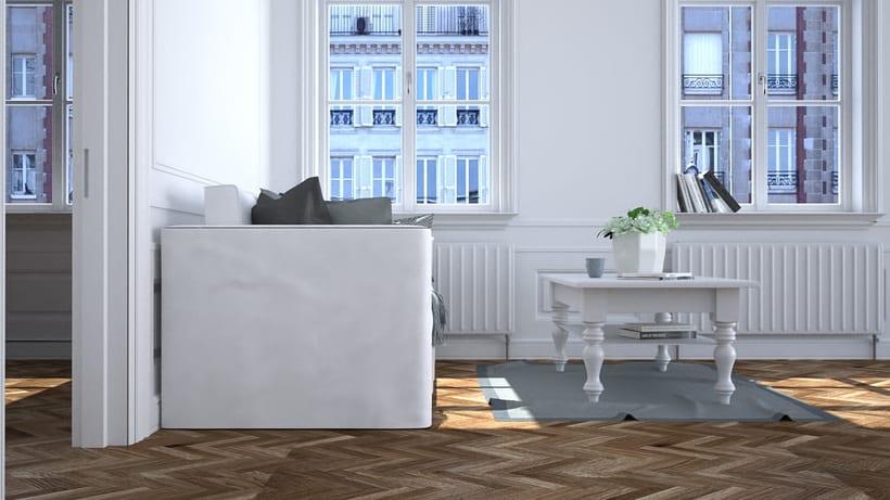 Diseño interior 3D 1