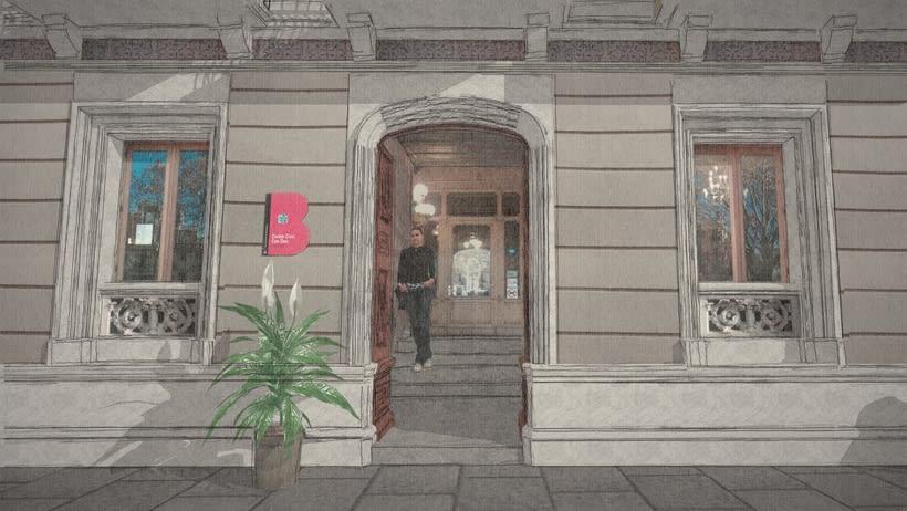 Modelado 3D (Edificio Can Deu - Barcelona) 5