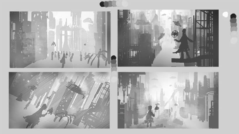 Mi Proyecto del curso: Iniciación al concept art: diseñando el futuro -1