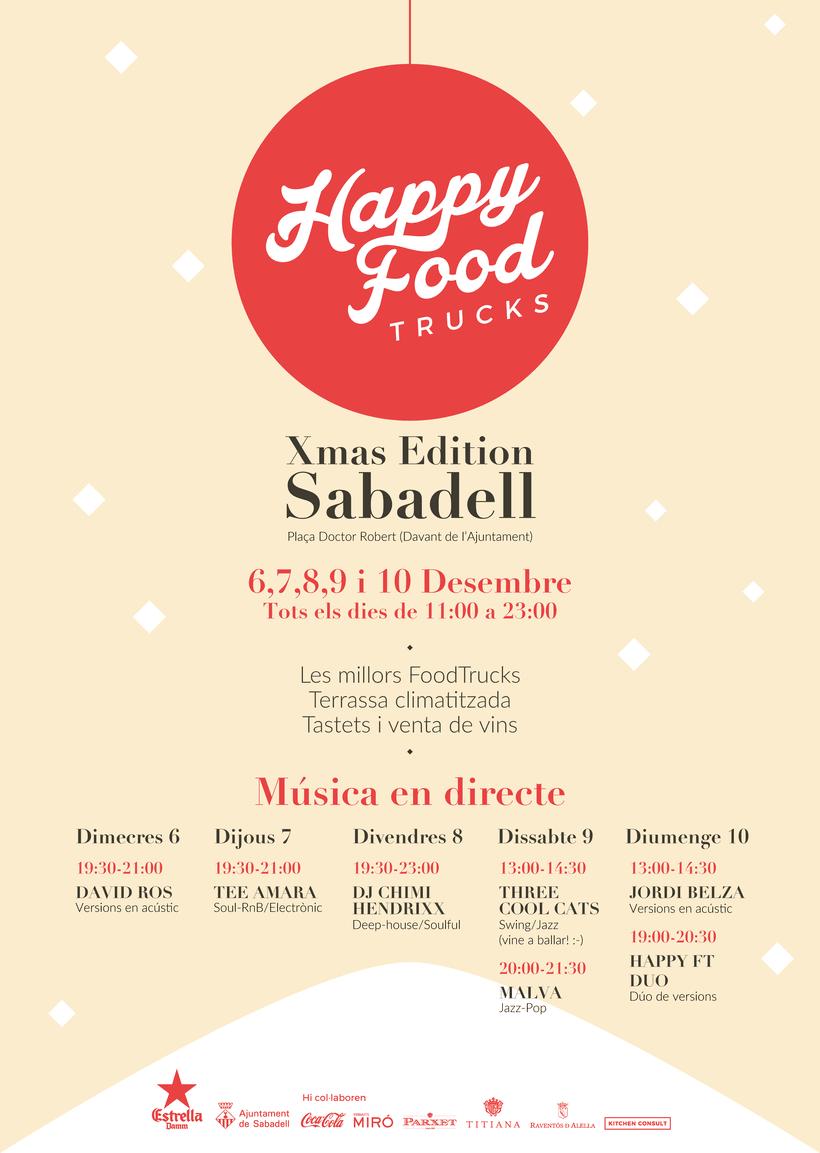 Events Happy Food Trucks - Diseño de algunos posters/banners 14