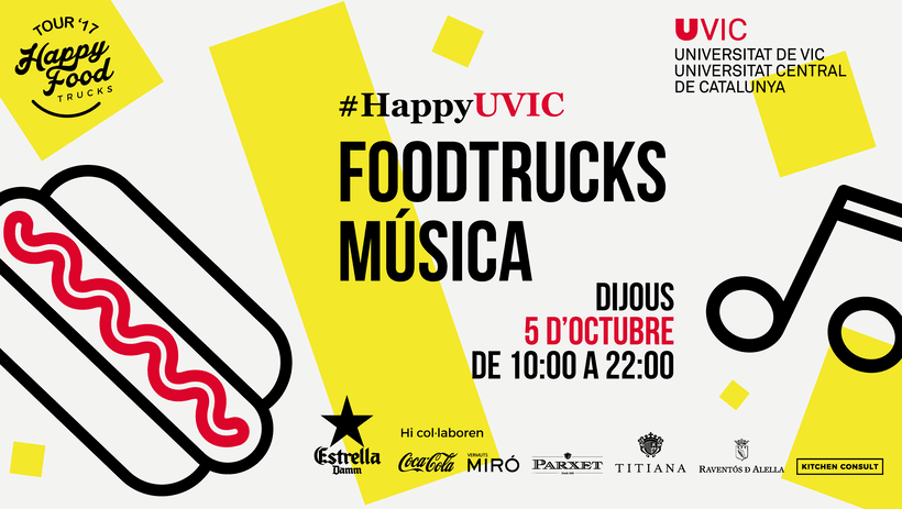 Events Happy Food Trucks - Diseño de algunos posters/banners 11