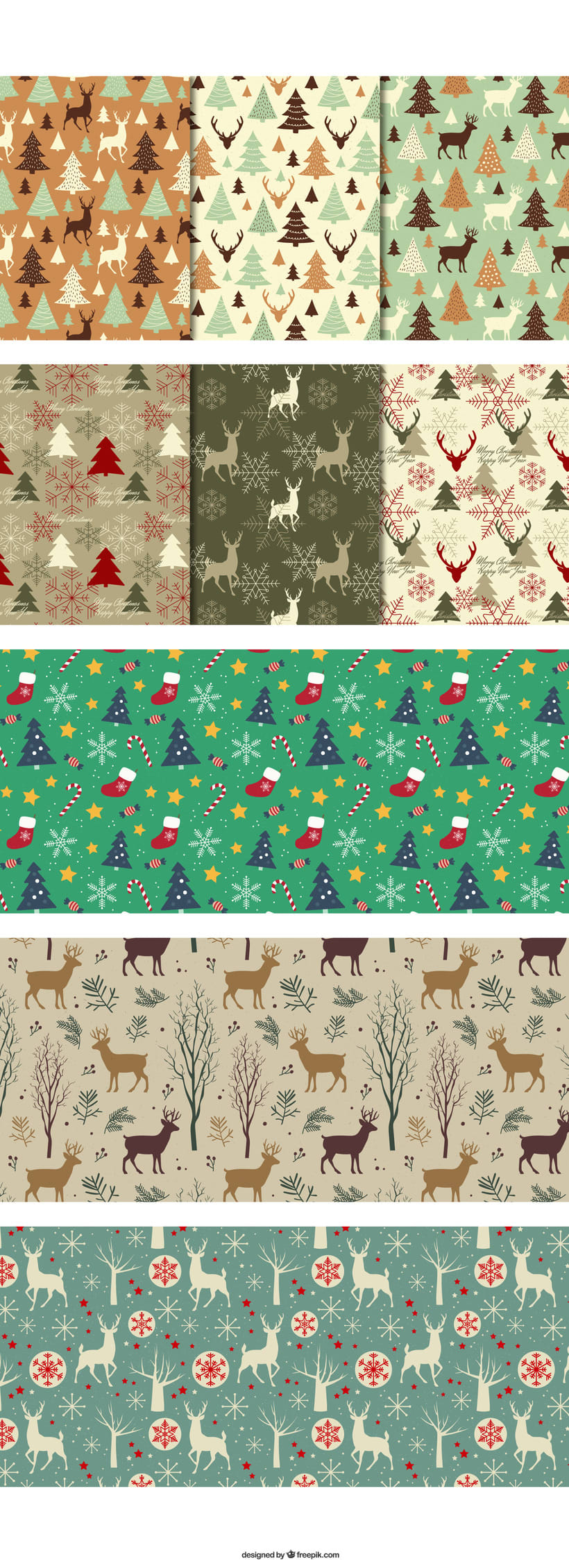 Patrones navideños 1