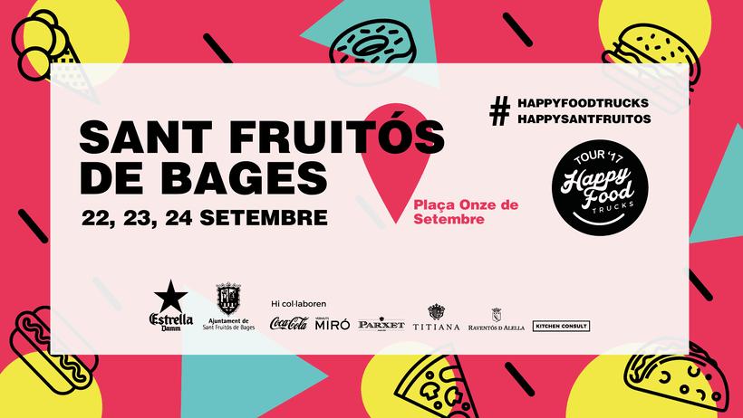 Events Happy Food Trucks - Diseño de algunos posters/banners 7
