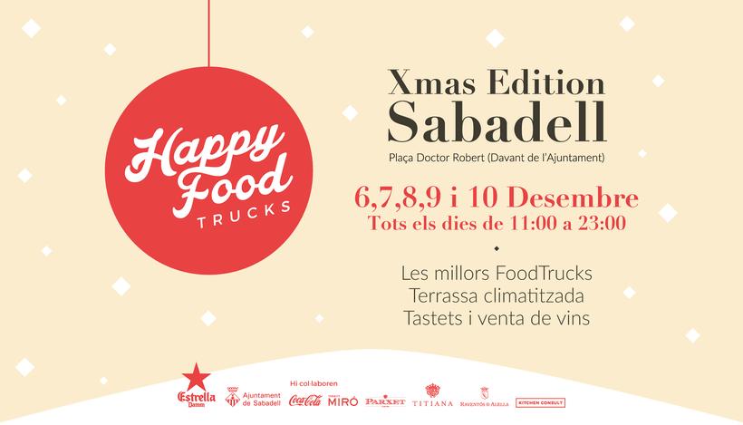 Events Happy Food Trucks - Diseño de algunos posters/banners 13