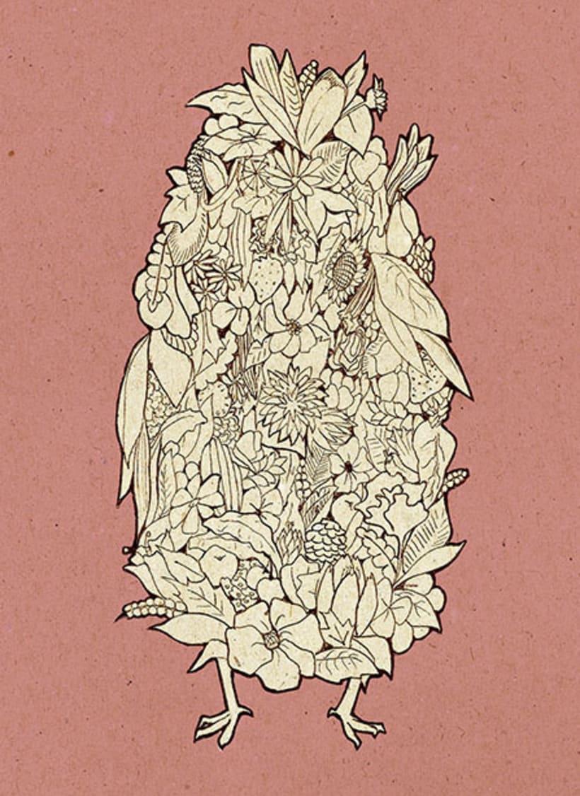 Fauna y flora   Ilustración -1