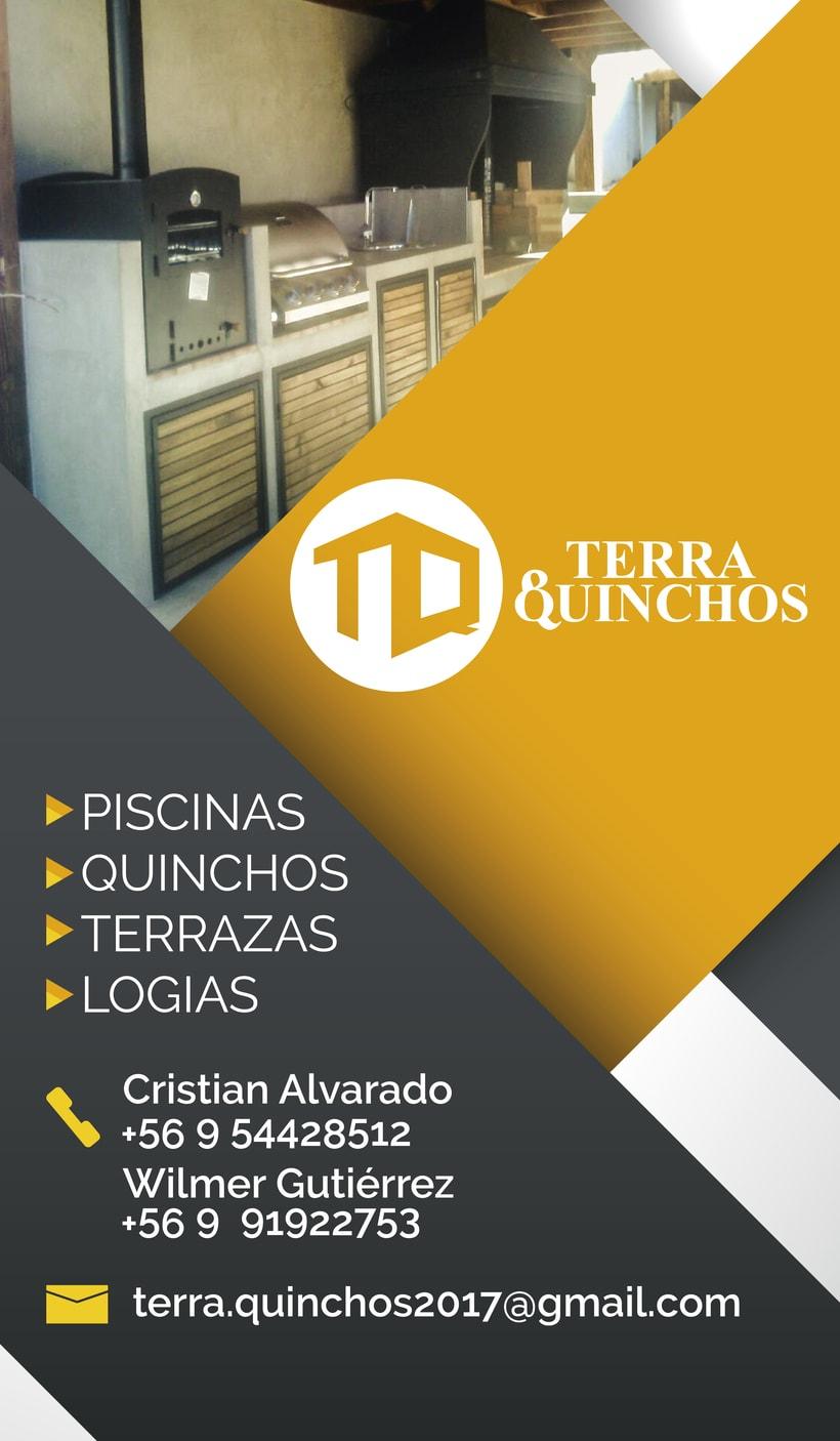"""Marca para constructores """"Terra y Quinchos"""" 3"""