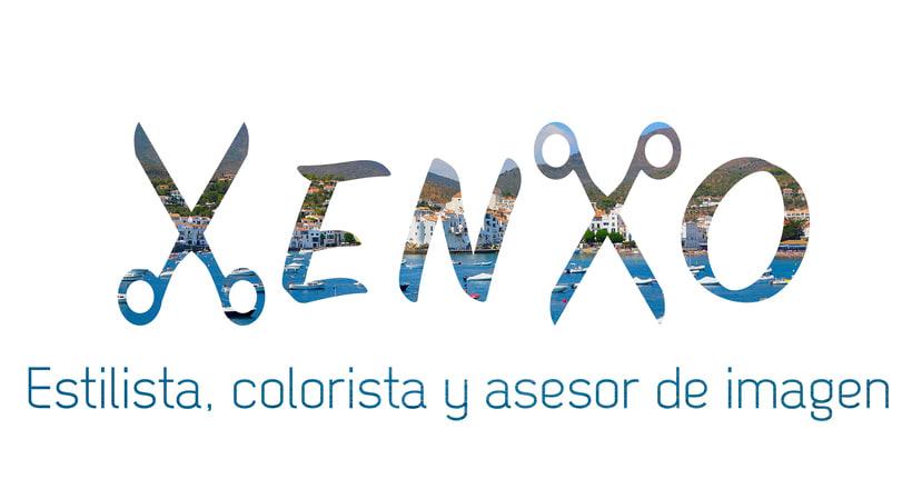 Logotipo Peluquería Xenxo 4