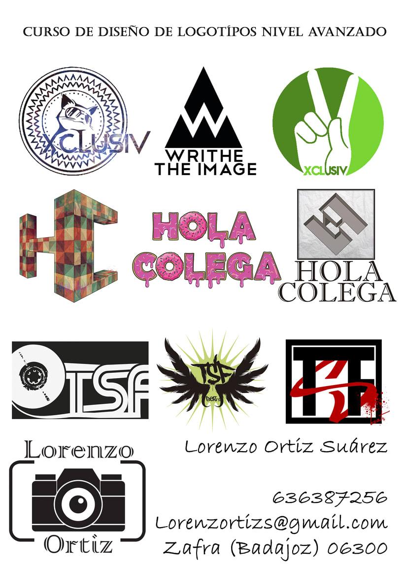 Ejemplo de Logotipos varios de un Curso propio. -1